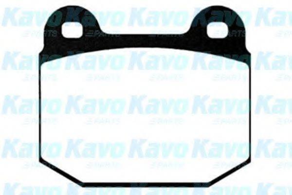 Комплект тормозных колодок, дисковый тормоз KAVO PARTS BP-5529