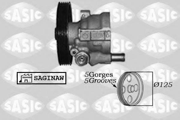 Гидравлический насос, рулевое управление SASIC 7074002