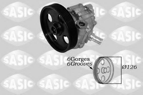 Гидравлический насос, рулевое управление SASIC 7070058