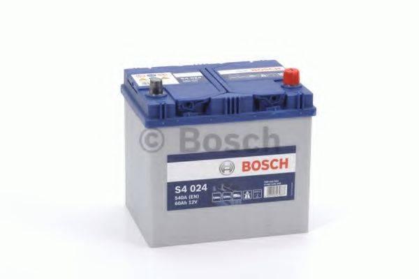 Стартерная аккумуляторная батарея; Стартерная аккумуляторная батарея BOSCH 0 092 S40 240