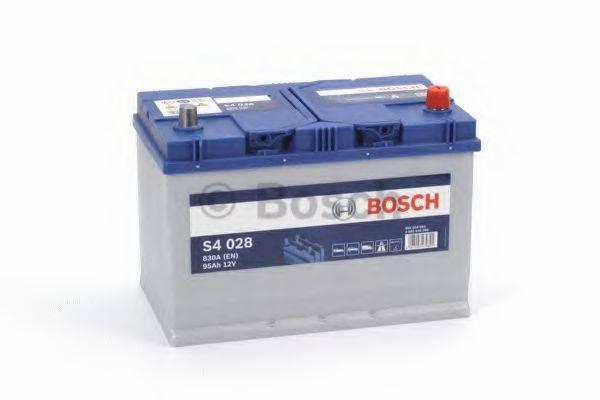 Стартерная аккумуляторная батарея; Стартерная аккумуляторная батарея BOSCH 0 092 S40 280