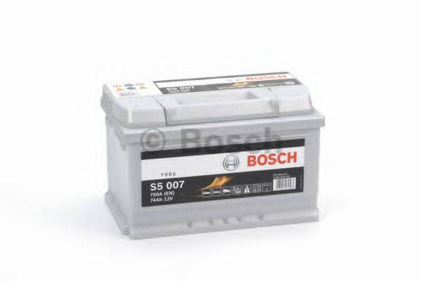 Стартерная аккумуляторная батарея; Стартерная аккумуляторная батарея BOSCH 0 092 S50 070