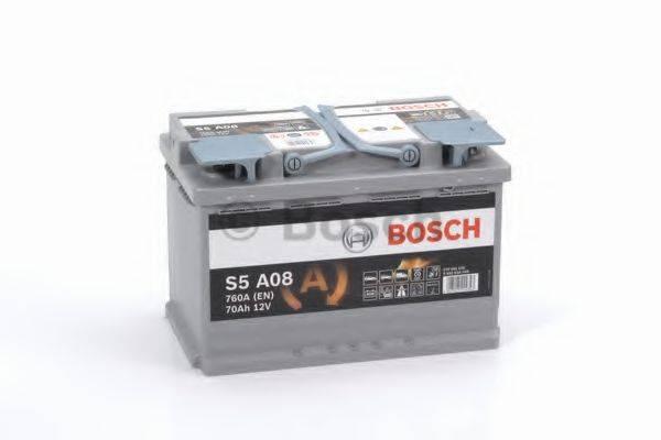 Стартерная аккумуляторная батарея; Стартерная аккумуляторная батарея BOSCH 0 092 S5A 080