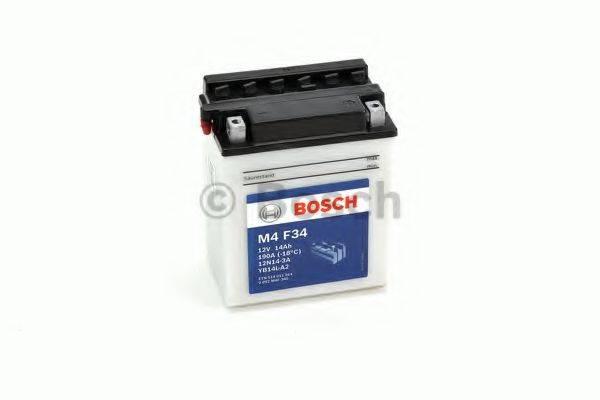 Стартерная аккумуляторная батарея; Стартерная аккумуляторная батарея BOSCH 0 092 M4F 340