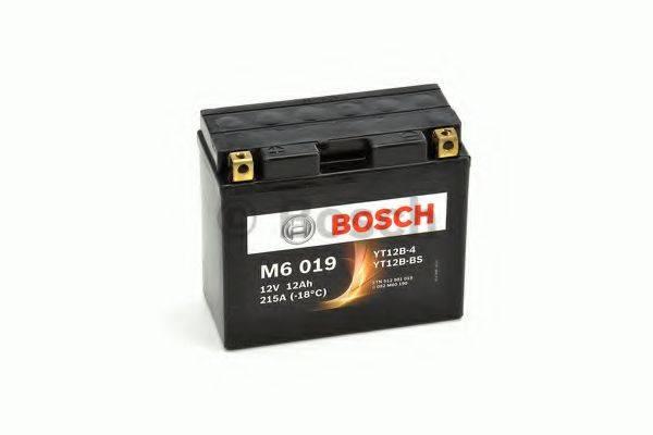 Стартерная аккумуляторная батарея; Стартерная аккумуляторная батарея BOSCH 0 092 M60 190