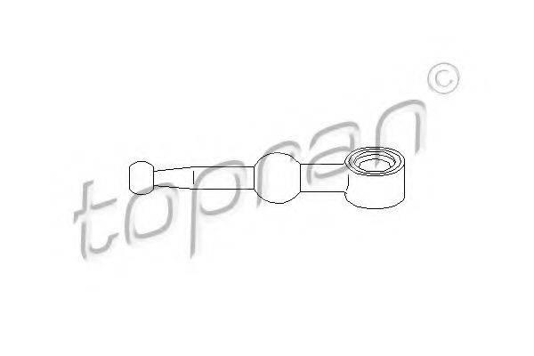 Шток вилки переключения передач TOPRAN 700 672