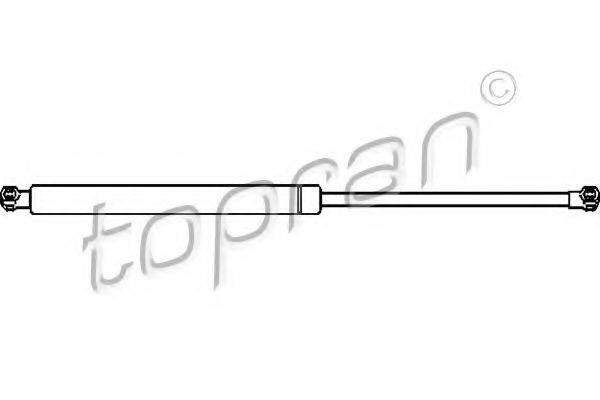 Газовая пружина, крышка багажник TOPRAN 700 710