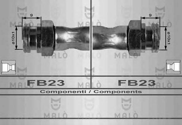 Тормозной шланг MALO 8265
