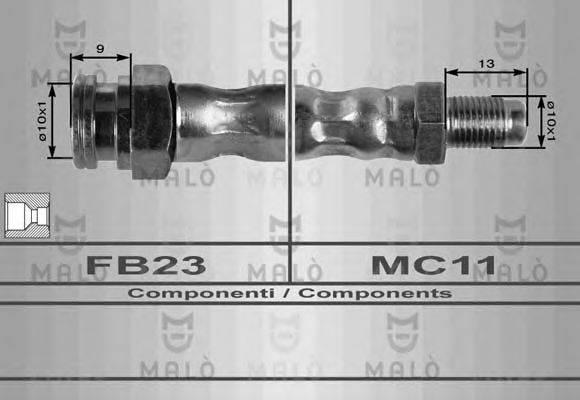 Тормозной шланг MALO 8354
