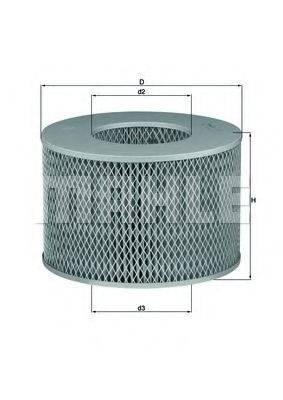 Воздушный фильтр KNECHT LX 1140