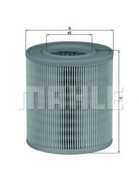 Воздушный фильтр KNECHT LX 1253