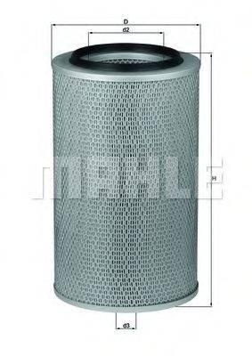 Воздушный фильтр KNECHT LX 227