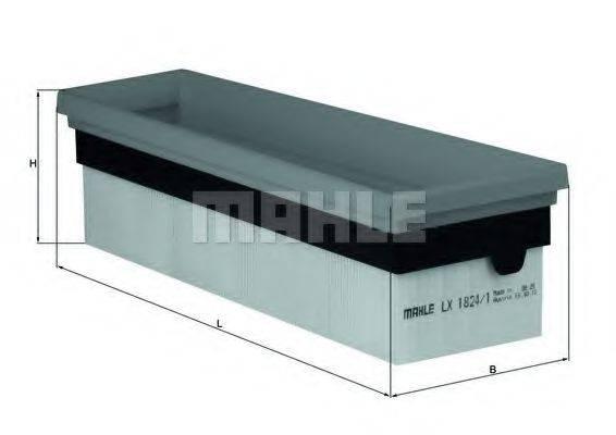 Воздушный фильтр KNECHT LX 1824/1