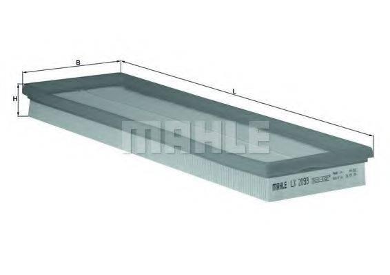 Воздушный фильтр KNECHT LX 2093