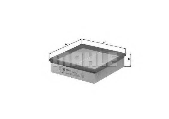 Воздушный фильтр KNECHT LX 220