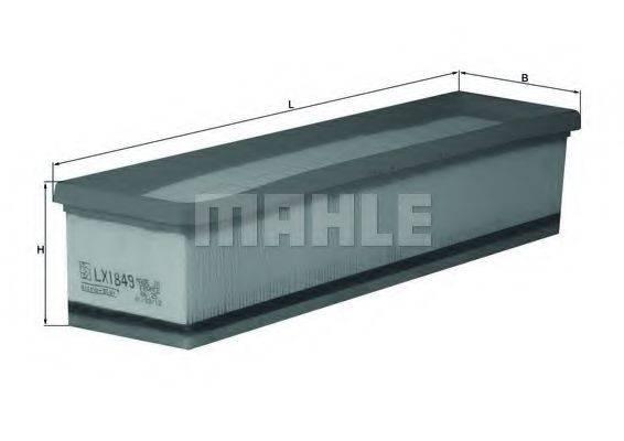 Воздушный фильтр KNECHT LX 1849