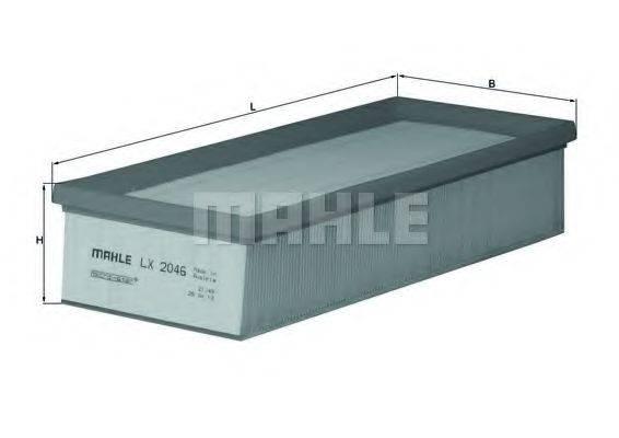 Воздушный фильтр KNECHT LX 2046