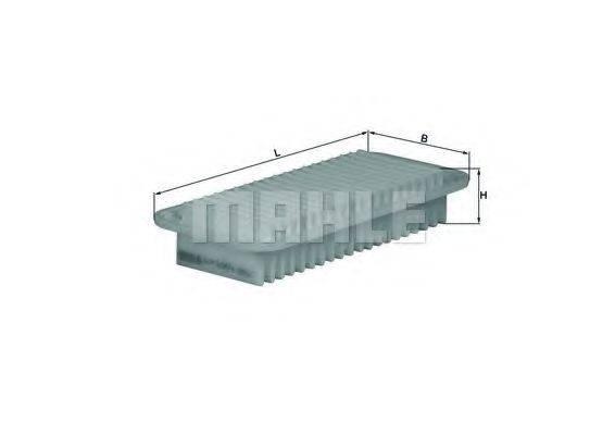 Воздушный фильтр KNECHT LX 1001