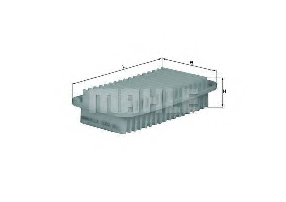 Воздушный фильтр KNECHT LX 1002