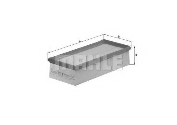 Воздушный фильтр KNECHT LX 1008/3