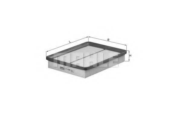 Воздушный фильтр KNECHT LX 1039