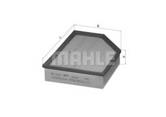Воздушный фильтр KNECHT LX 1219