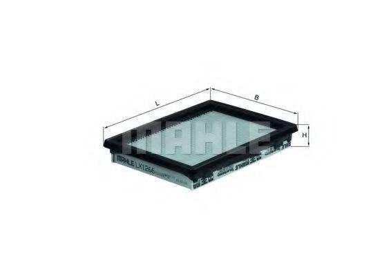 Воздушный фильтр KNECHT LX 1266