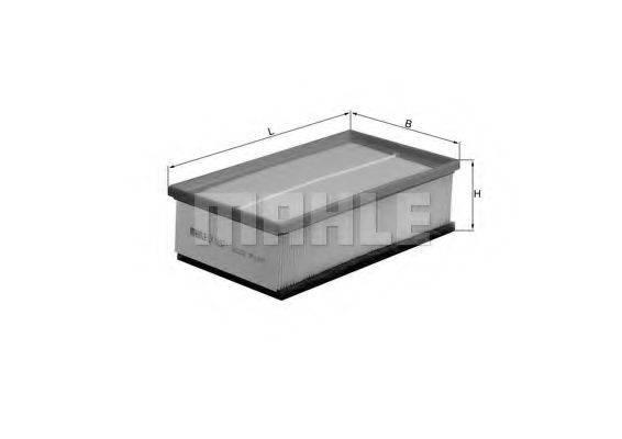 Воздушный фильтр KNECHT LX 1497