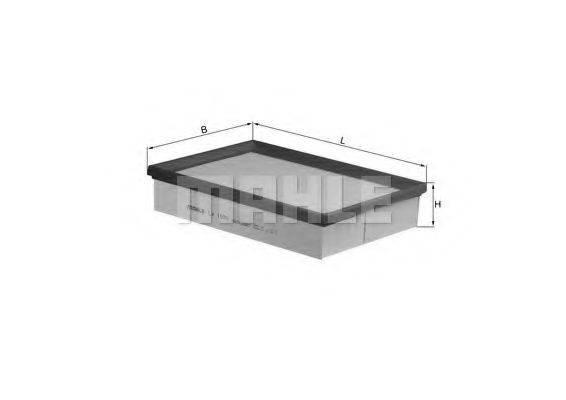 Воздушный фильтр KNECHT LX 1570