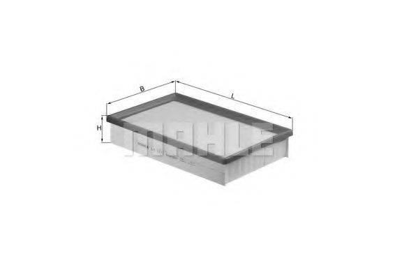Воздушный фильтр KNECHT LX 1571