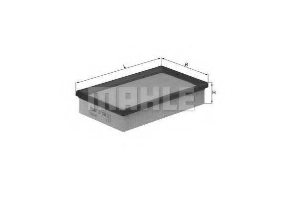Воздушный фильтр KNECHT LX 1585