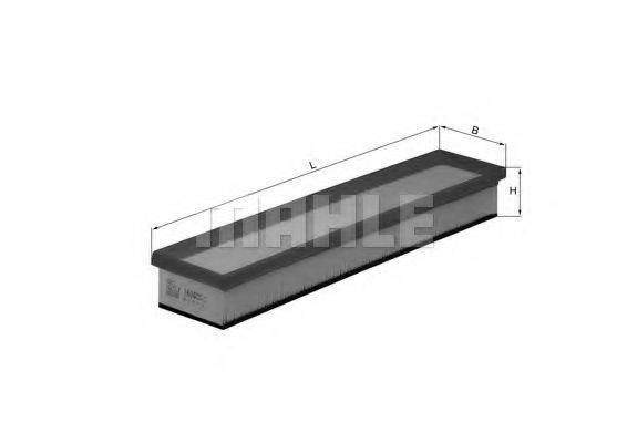 Воздушный фильтр KNECHT LX 1604
