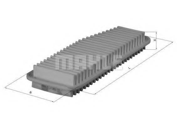 Воздушный фильтр KNECHT LX 1611