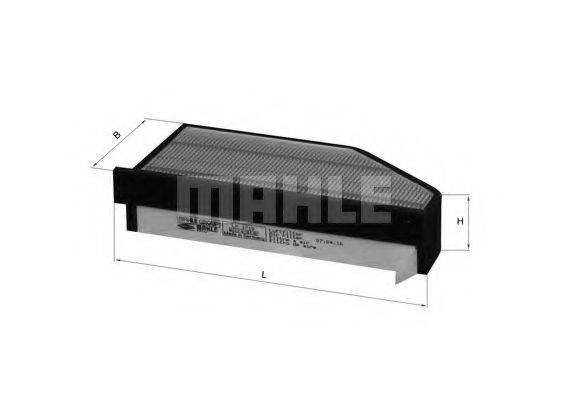 Воздушный фильтр KNECHT LX 1710