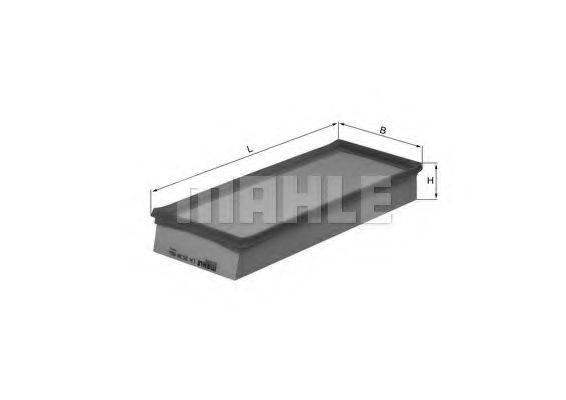Воздушный фильтр KNECHT LX 2038