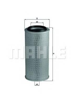 Воздушный фильтр KNECHT LX 236