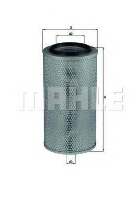 Воздушный фильтр KNECHT LX 265