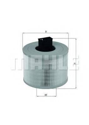 Воздушный фильтр KNECHT LX 1035