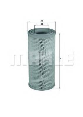 Воздушный фильтр KNECHT LX 1142