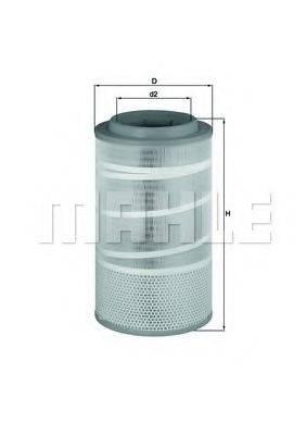 Воздушный фильтр KNECHT LX 1457