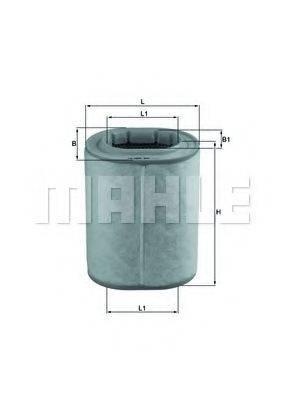 Воздушный фильтр KNECHT LX 1460