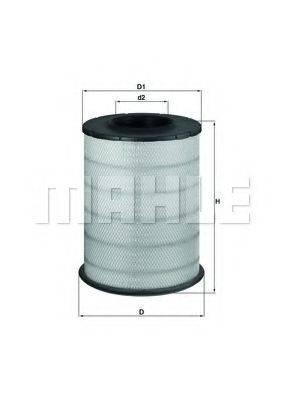 Воздушный фильтр KNECHT LX 1587