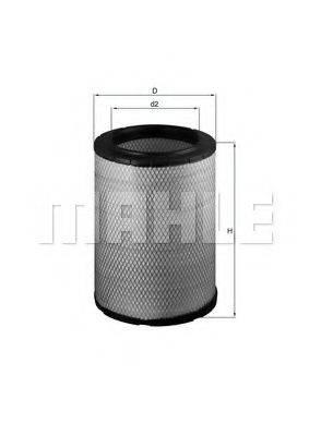 Воздушный фильтр KNECHT LX 1600
