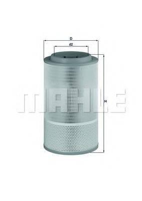 Воздушный фильтр KNECHT LX 1627