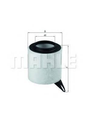 Воздушный фильтр KNECHT LX 1651