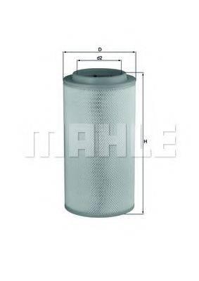 Воздушный фильтр KNECHT LX 1734