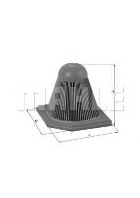 Воздушный фильтр KNECHT LX 1892