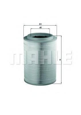 Воздушный фильтр KNECHT LX 2082
