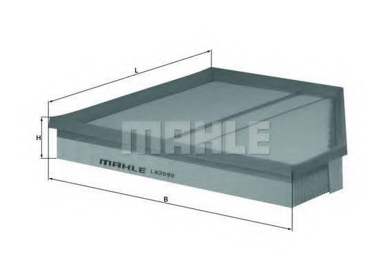Воздушный фильтр KNECHT LX 2098
