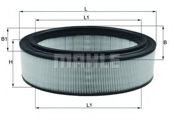 Воздушный фильтр KNECHT LX 2844